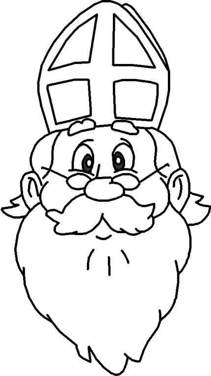 Opa Knoest Kerst Kleurplaat Kleurplaat Sint En Piet